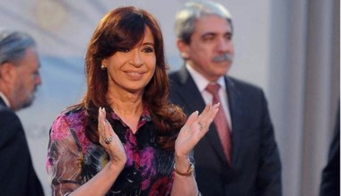 Cristina Kirchner hizo el anuncio junto al ministro Axel Kicillof.