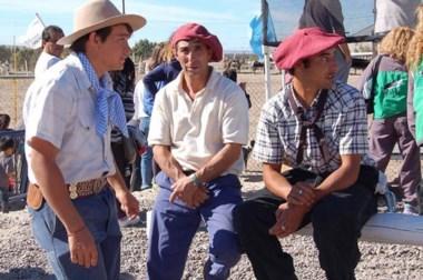 El clima  fue el marco apropiado para la realización del Paseo Gaucho y Día Campero con destrezas criollas.