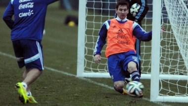 Messi podrá estar en los dos amistosos de la Selección Argentina.