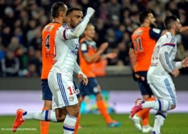 Lyon empezó perdiendo pero lo dio vuelta y terminó goleando.