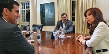 Cristina Kirchner dialogó casi una hora con el gobernador de Salta y ganador de las PASO Manuel Urtubey.