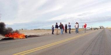 Miembros del Sindicato Obreros Marítimos Unidos renovaron sus reclamos con otro corte de la ruta 3.