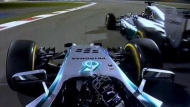 Rosberg evita toque entre los Mercedes en punta. ¿Estará de nuevo en esa posición? ¿Sería más agresivo?