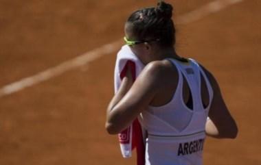 Ormaechea arrancó mejor pero la española Sorribes, que debutaba, lo dio vuelta.