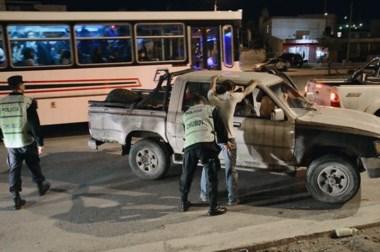 En conjunto con la Agencia de Seguridad Vial, la Policía secuestró casi una veintena de vehículos.