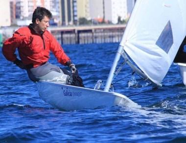 Las aguas del Golfo Nuevo fueron el escenario de la Copa Ballenas.