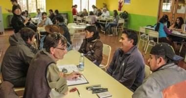 """El programa """"Casa Abierta"""" se desarrolló  en las comunas rurales de Colán Conhué y Aldea Epulef."""