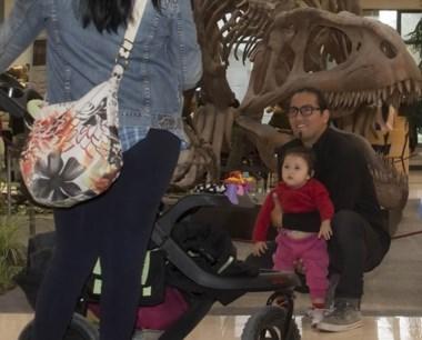Propuesta. Muchas familias eligieron el MEF para visitar y conocer.