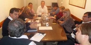 Concejales e integrantes del OMRESP analizaron números de la cooperativa.