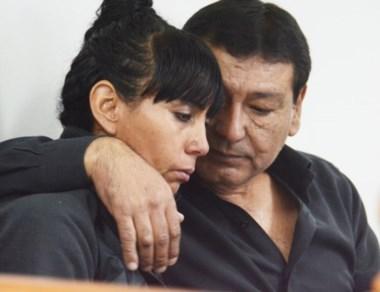Con dolor y expectativas. Los padres aguardan el final del juicio.
