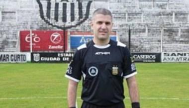 El árbitro,porteño, bancario de 35 años, vendrá el domingo a dirigir al Conti.