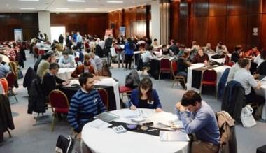 Numerosos participantes nucleó la ronda de negocios en Comodoro.