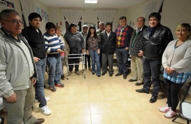 Representantes de una decena de barrios participaron  de la reunión con el intendente Pérez Catán.
