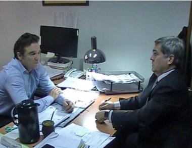 Miquelarena consultó al fiscal Maza sobre causas resonantes.