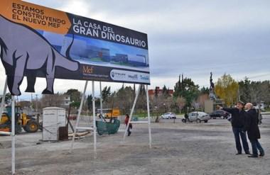 El Municipio trabaja en el predio que albergará la ampliación del Museo Egidio Feruglio.