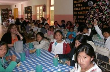 El 93% de la matrícula del establecimiento es de origen quechua.