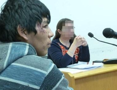 Máximo Guzmán ayer en la audiencia donde se le otorgó la libertad.