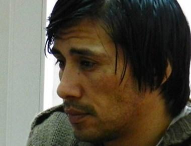 Walter Ceballos, el condenado.
