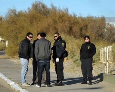 El trabajo de los investigadores permitió secuestrar un arma blanca.