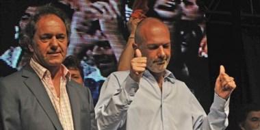 Todo bien. El bonaerense cumplirá con su promesa de respaldo político el sábado en la ciudad petrolera.