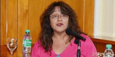 Nadia Zúñiga, representante de ATTTA en Trelew.