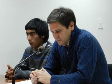 Carlos Fernández, sospechoso de ser el autor del crimen, ayer.