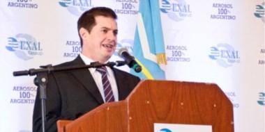 Ignacio Menescardi es quien está a cargo de la gerencia de las plantas de Exal en Madryn y  San Pablo.