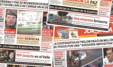 Tapas. Jornada aportó periodísticamente varios elementos que los fiscales usaron para su pesquisa por el presunto fraude en Trelew.