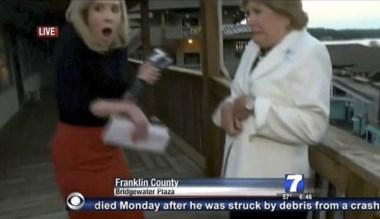 Momento en que la periodista Alison Parker es baleada por su agresor