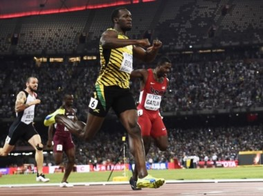 Nadie puede con Usain Bolt en carreras de velocidad.