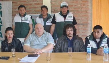 Logro. Agostinelli y Osorio encabezaron las explicaciones en Esquel.