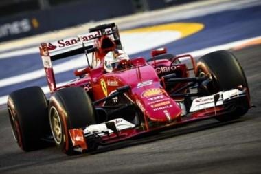 Sebastian Vettel da la sorpresa y logra la pole en Singapur.