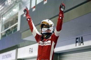 Vettel superó marca de triunfos de Ayrton Senna: llegó a 42. Segunda mejor marca histórica.