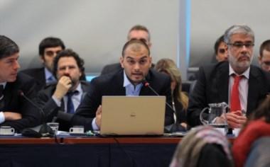 El número dos del Palacio de Hacienda, junto a Roberto Feletti y el senador Abal Medina.