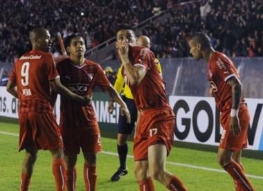 Juan Manuel Trejo a los 43' del primer tiempo le dio el triunfo a Independiente.