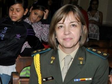 Pansa, de 54 años, es la edecana de la presidenta CFK.