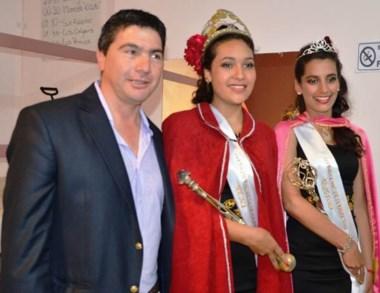 Soberana. Aylén Azocar tiene 17 años y representará a la fiesta en 2016.