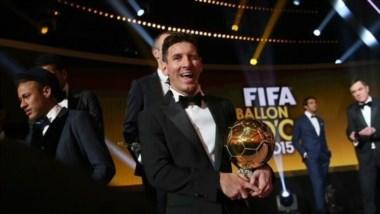 Messi supera a Cristiano Ronaldo tras obtener su quinto balón de oro.
