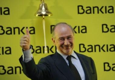 El banquero ahora caído en desgracia, cuando era mandamáss de Bankia.