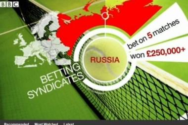 El tenis ante un escándalo de apuestas que involucra a varios top ten, según BBC.