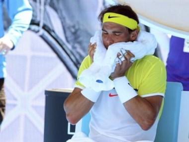 """Nadal: """"Es una derrota especialmente dura y dolorosa""""."""