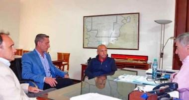 Das Neves y Sastre encabezaron la reunión con directivos de Andes.
