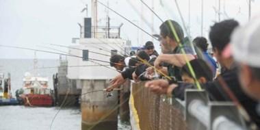 Sin dudas, el torneo de pesca fue el  principal motivador para que los vecinos se acercaran al Muelle.