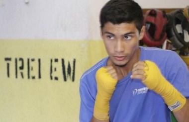 Maxi Robledo, con 17 años, se ganó un lugar en la Selección. Es parte del futuro olímpico argentino.
