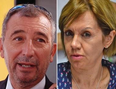 Dúo. Báez y Pereira ya tomaron una decisión fuerte con la denuncia.