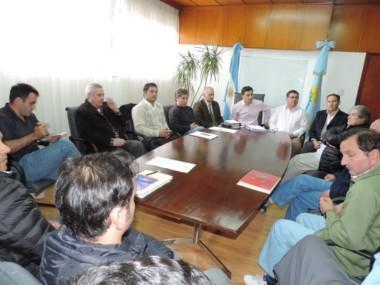 Tras la reunión en el Ministerio de la Producción, se elevó una nota formal al titular d Agroindustria Nacional.