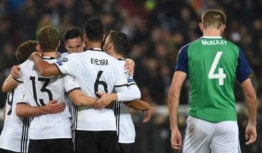 Alemania venció cómodamente a Irlanda del Norte y lidera el Grupo C.