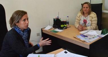 Explicaciones. Galst (izquierda) junto con Mendoza en plena charla con Jornada para dar su versión.