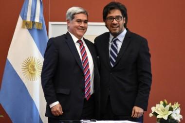 El Procurador de Chubut participó del encuentro con el Ministro Garavano