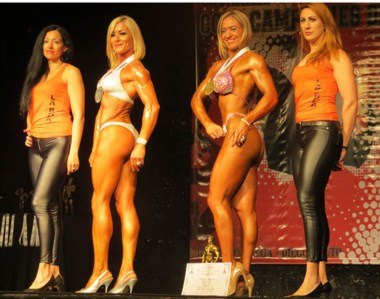 Cecilia Manicler (2da, de derecha a izq), cerró un año de grandes logros. Ya piensa en la próxima temporada.